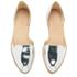 Loeffler Randall Women's Prue Pointed Flats - Silver: Image 2