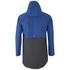 Elka Men's Thy Rain Jacket - Dark Grey/Royal Blue: Image 2