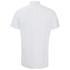 J.Lindeberg Men's Short Sleeve Linen Shirt - White: Image 2