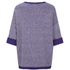 Barbour International Women's Blade Zip Side Jumper - Royal Purple: Image 2
