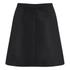 Carven Women's Floral Skirt - Black/Lilac: Image 3