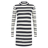 ONLY Women's Miabella High Neck Knitted Dress - Night Sky: Image 1