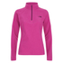 The North Face Women's Glacier Quarter Zip Fleece - Raspberry Rose: Image 1