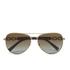 MICHAEL MICHAEL KORS Women's Fiji Glam Chain Link Sunglasses - Gold: Image 1