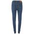 Levi's Women's Mile High Super Skinny Jeans - Blue Mirage: Image 2