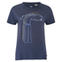 Levi's Women's Vintage Printed Perfect Tee - Navy: Image 1