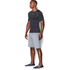 Under Armour Men's Armourvent Compression Short Sleeve T-Shirt - Black: Image 2