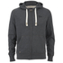 Tokyo Laundry Men's Cobble Hill Zip Through Hoody - Charcoal Marl: Image 1