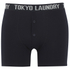 Tokyo Laundry Men's Kings Cross 2 Pack Button Boxers - Light Grey Marl/Dark Navy: Image 2