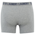 Tokyo Laundry Men's Kings Cross 2 Pack Button Boxers - Light Grey Marl/Dark Navy: Image 5