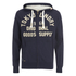 Tokyo Laundry Men's Tomahawk Bay Zip Through Hoody - Dark Navy: Image 1
