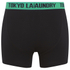 Tokyo Laundry Men's Charmouth 2 Pack Button Boxers - Simply Green/Dewberry: Image 4