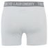 Tokyo Laundry Men's Kings Cross 2 Pack Button Boxers - Optic White/Cornflower Blue: Image 3