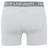 Tokyo Laundry Men's Kings Cross 2 Pack Button Boxers - Optic White/Cornflower Blue: Image 3
