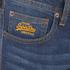 Superdry Men's Corporal Slim Denim Jeans - Brighton Blue: Image 3