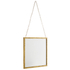 Bark & Blossom Hanging Gold Mirror: Image 2