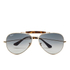 Ray-Ban Men's Outdoorsman Aviator Sunglasses - Gold: Image 1