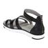 UGG Women's Zina Gladiator Sandals - Black: Image 4