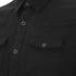 BLK DNM Men's Fitted Denim Shirt - Pocono Black: Image 3