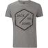 Jack & Jones Men's Core Hex T-Shirt - Grey Marl: Image 1