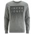 Jack & Jones Men's Core Noise Sweatshirt - Light Grey Melange: Image 1