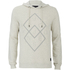 Jack & Jones Men's Core Fat Hoody - Treated White: Image 1