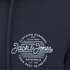 Jack & Jones Men's Originals Smooth Hoody - Navy Blazer: Image 3