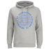 Jack & Jones Men's Originals Steven Hoody - Light Grey Melange: Image 1