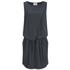 Gestuz Women's Clary Mini Dress with Tie Waist - Anthracite: Image 1