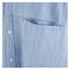 Carhartt Women's Corry Short Sleeved Denim Shirt Dress - Blue Super Bleach: Image 5