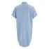 Carhartt Women's Corry Short Sleeved Denim Shirt Dress - Blue Super Bleach: Image 2