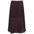 McQ Alexander McQueen Women's Pleated Skirt - Red/Black: Image 1