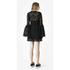 McQ Alexander McQueen Women's A Line Lace Dress - Black: Image 3