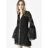 McQ Alexander McQueen Women's A Line Lace Dress - Black: Image 4