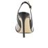 Vivienne Westwood Women's Caruska Sling Back Court Shoes - Black/Clear: Image 3