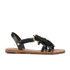 Vivienne Westwood Women's Animal Toe Flat Sandals - Black: Image 1