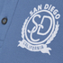 Produkt Men's Embroidered Polo Shirt - Bijou Blue: Image 3