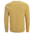 Folk Men's Plain Crew Neck Sweatshirt - Washed Out Amber: Image 2