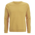 Folk Men's Plain Crew Neck Sweatshirt - Washed Out Amber: Image 1