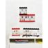 LEGO Mini Figure Display (8 Minifigures) - Black: Image 3