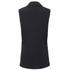 Karl Lagerfeld Women's Crepe Lace Detail Waistcoat - Navy: Image 2
