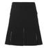 Karl Lagerfeld Women's Karl Denim Flare Skirt - Black: Image 2