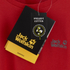 Jack Wolfskin Men's Essential Function T-Shirt - Red Fire: Image 4