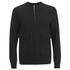 Helmut Lang Men's Collarless Padded Jersey Bomber Jacket - Black: Image 1