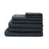 Highams 100% Cotton 7 Piece Towel Bale (550gsm) - Charcoal: Image 1