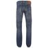 Edwin Men's Classic Regular Tapered Rainbow Selvage Jeans - Mid Dark Used: Image 2