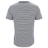 Edwin Men's Engineered Fine Rib Striped T-Shirt - Navy/ White: Image 2
