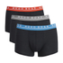 BOSS Hugo Boss Men's 3 Pack Boxer Shorts - Black: Image 1