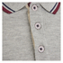 Crosshatch Men's Downtalk Tipped Polo Shirt - Grey Marl: Image 3