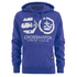Crosshatch Men's Arowana Hoody - Surf The Web: Image 1